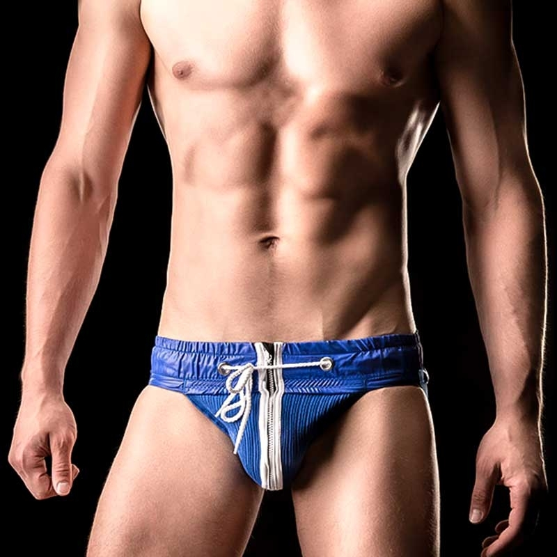 BARCODE Berlin JOCK Strap VITALY hockey 90862 zip fighter blue