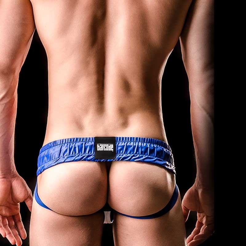 BARCODE Berlin JOCKstrap Hockey 90862 Zipper-1-Weg in blau