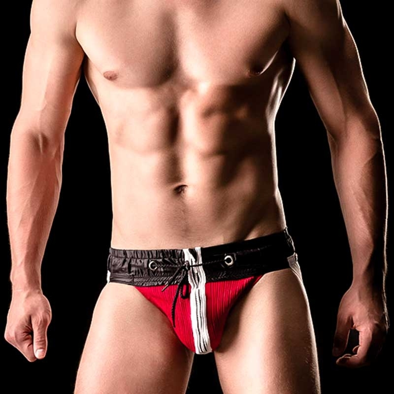 BARCODE Berlin JOCK Strap VITALY hockey 90862 zip fighter red