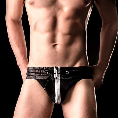 BARCODE Berlin JOCK Strap VITALY hockey 90862 zip fighter blackstyle