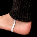 BARCODE Berlin LEG CUFFS tube Leg WARMER 90875 player white