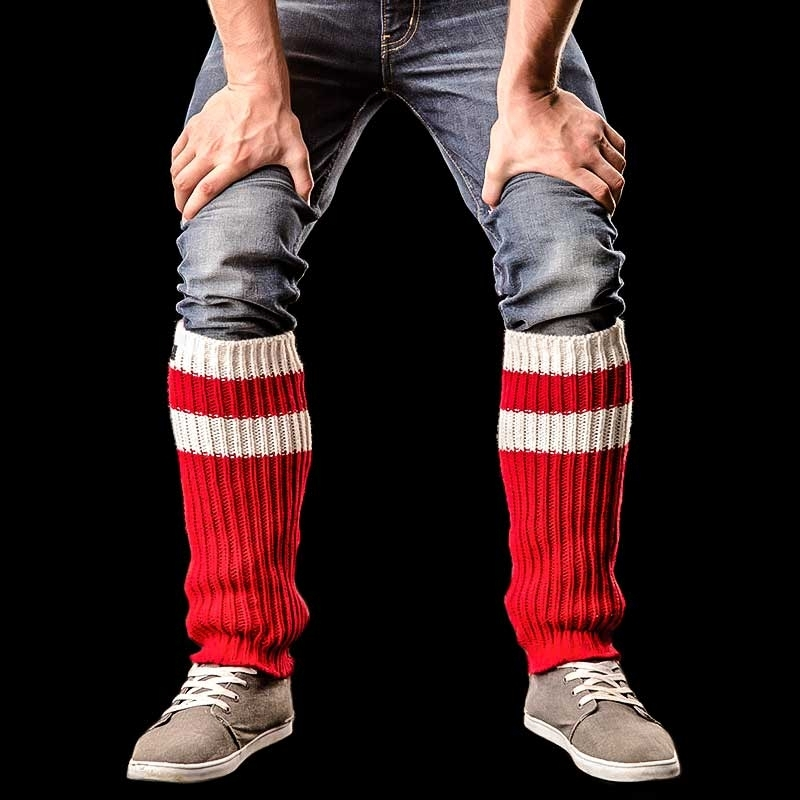 BARCODE Berlin LEG CUFFS tube Leg WARMER 90875 player red