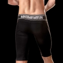 BARCODE Berlin SHORTS Player YANN dark gym 90717 American Football blackstyle