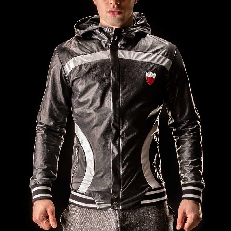 BARCODE Berlin JACKET WET Hoody JUPITER 90884 star in black