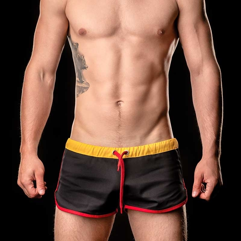 BARCODE Berlin SHORTS gym WORLD CUP 90937 Flagge Deutschland