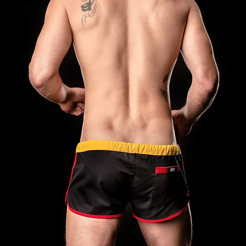 BARCODE Berlin SHORTS gym WORLD CUP 90937 flag Germany