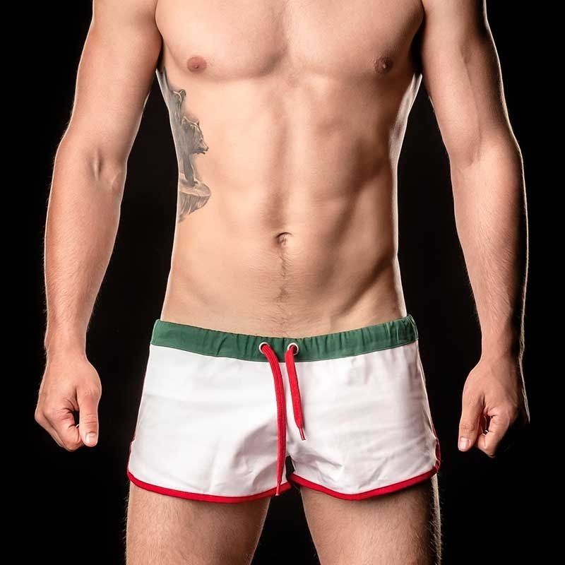 BARCODE Berlin SHORTS gym WORLD CUP 90937 flag Italy