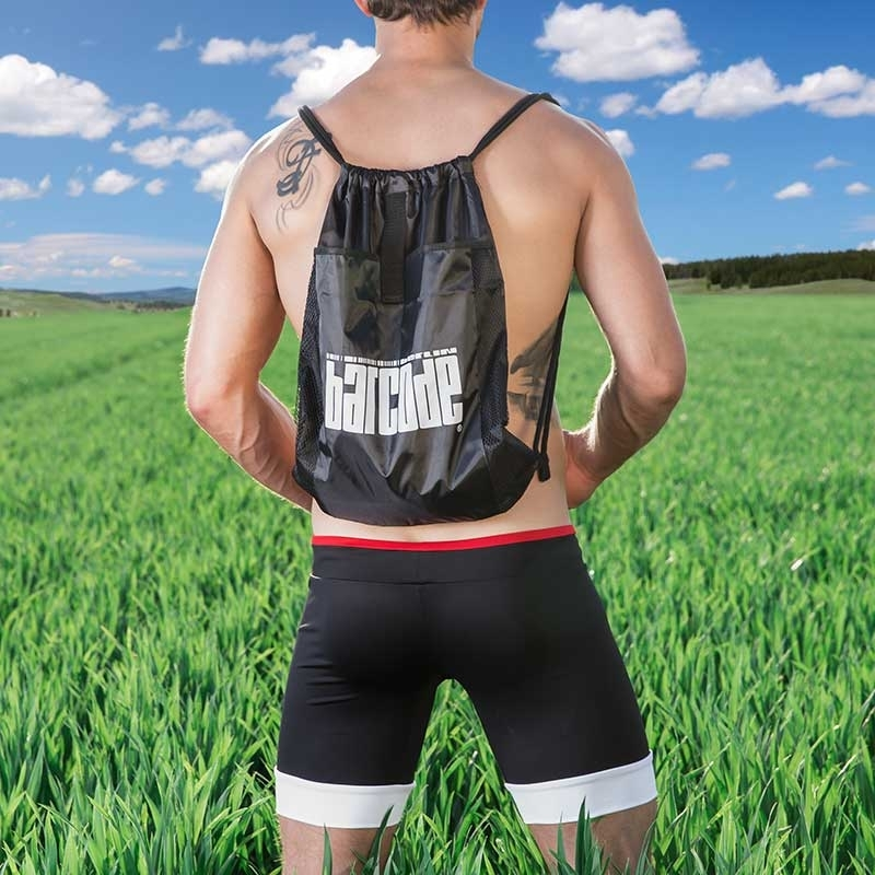 BARCODE Berlin BAG with drawstring swim 90947 + gym pouch black