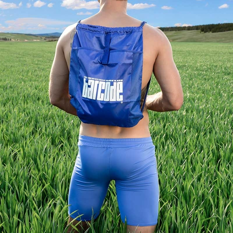 BARCODE Berlin BAG with drawstring swim 90947 + gym pouch blue