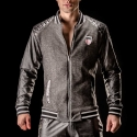 BARCODE Berlin JACKE WET star JUPITER 90922 underground black