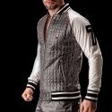 BARCODE Berlin JACKET stepp URANUS star 90929 clubwear blackstyle