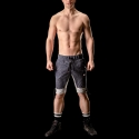 BARCODE Berlin SHORTS regular FLAVIEN 90903 denim look navy