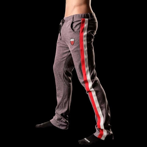BARCODE Berlin HOSE 4-pocket GUY gym 90906 jogging pants grau