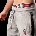 BARCODE Berlin GYM PANTS sweat pants MELVIN 90949 grey black