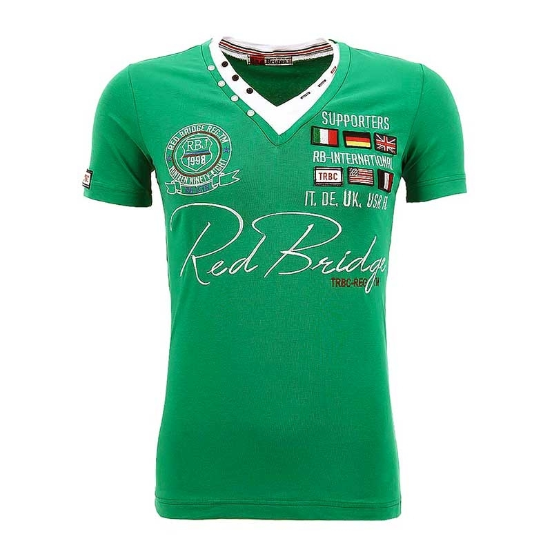 RED BRIDGE T-SHIRT RB2011 mit Sponsoren Abzeichen