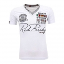 RED BRIDGE T-SHIRT RB2011 with sponsors badge