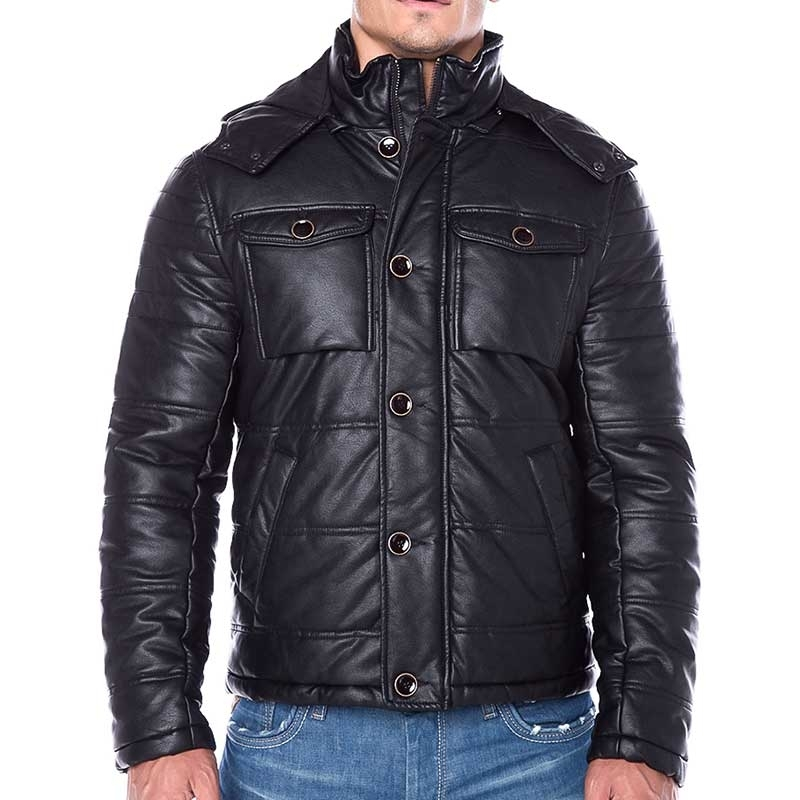 RED BRIDGE WINTERJACKE Blouson MAGO R41484 mit Kapuze black