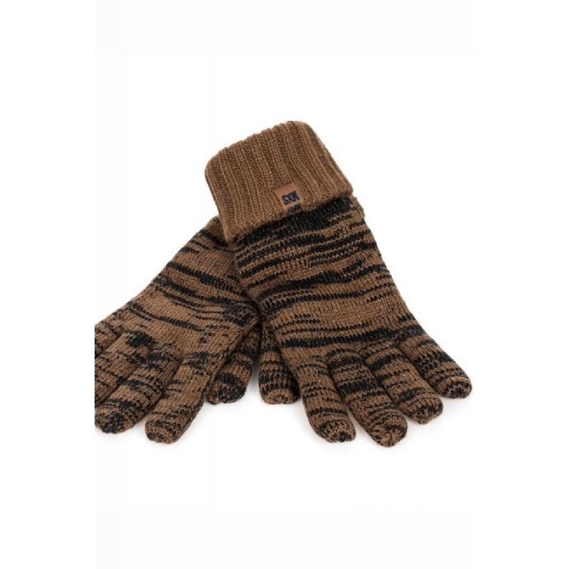 NO-Excess FINGER glove brown