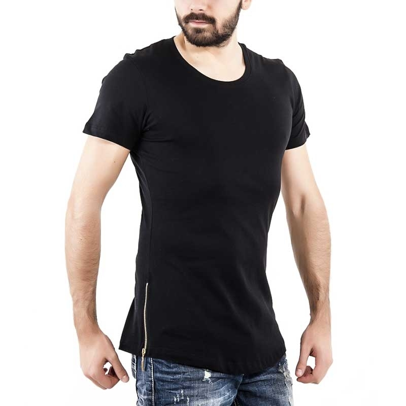 RED BRIDGE T-SHIRT regular JAXON weekend R41289 Zip langshirt black
