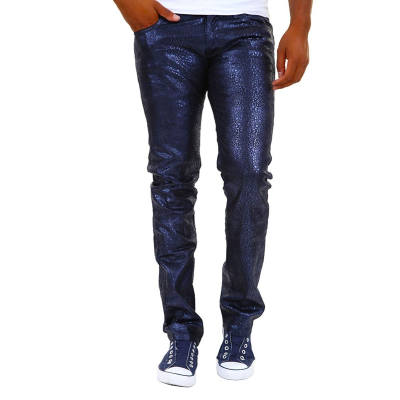 ABSOLUT JOY PANTS 5-Pocket blue star