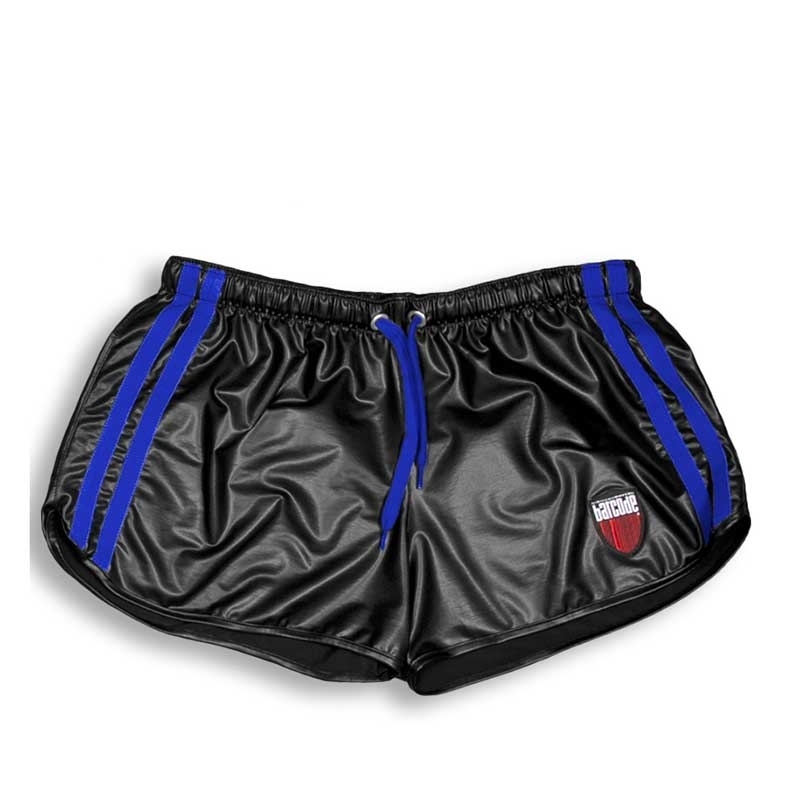 BARCODE Berlin SHORTS wet LIMITED gym BYRON fight 91157 shiny blackstyle blue