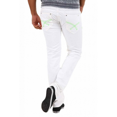ABSOLUT Joy JEANS HOSE P3985 neon highlight
