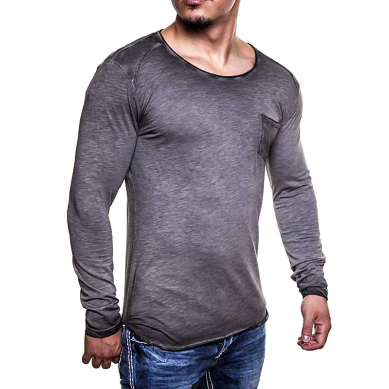 CARISMA SWEATSHIRT regular LEVIN casual CRSM 3173 langshirt grey