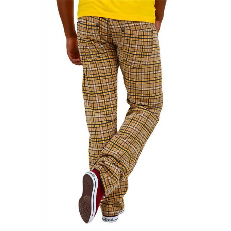 ABSOLUT JOY PANTS 5-pocket Karo