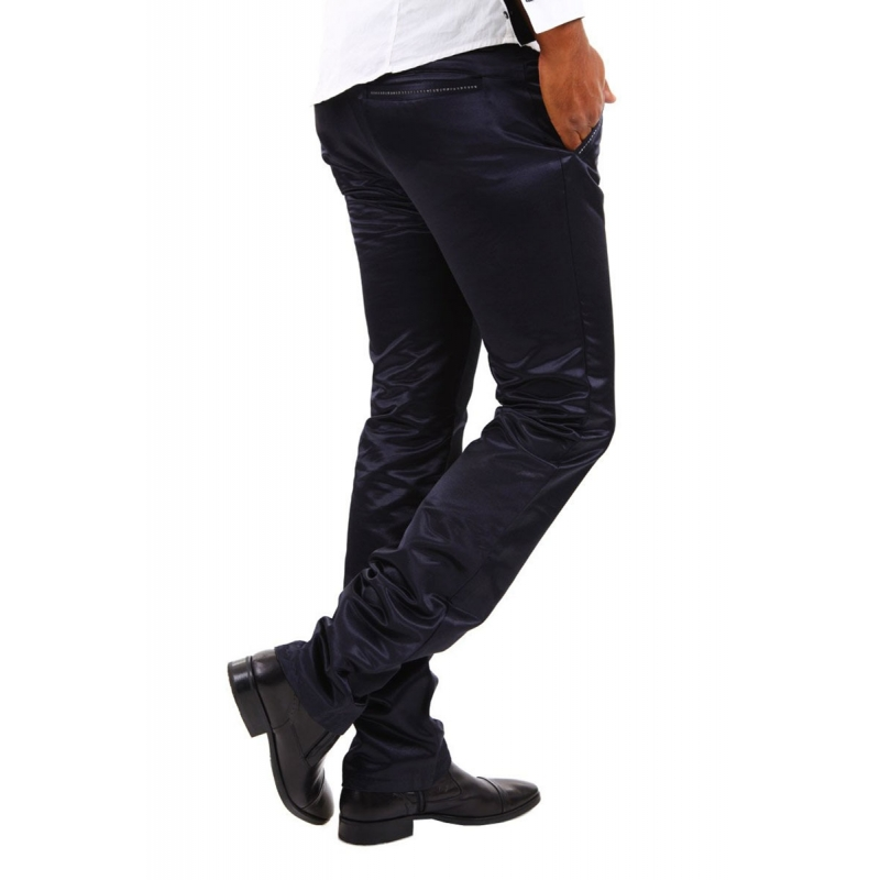 ABSOLUT JOY PANTS darkblue-pearl
