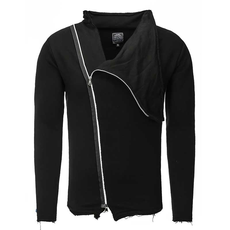 CARISMA SWEATJACKE regular BENJAMIN route CRSM 3203 freestyle black