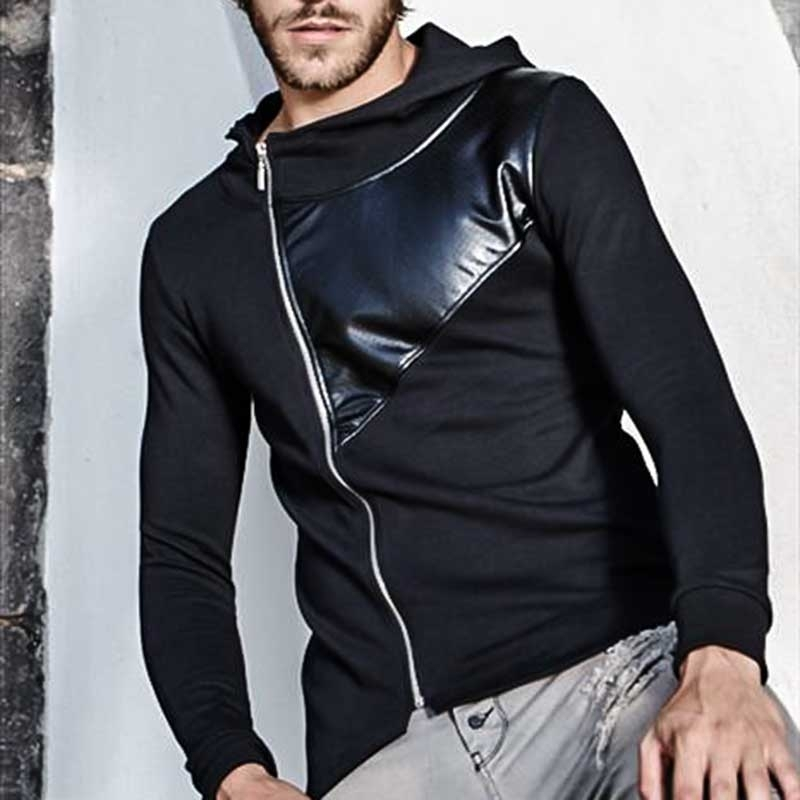 CARISMA SWEATJACKE regular KEANU hoodie CRSM 5082 lang sweat black