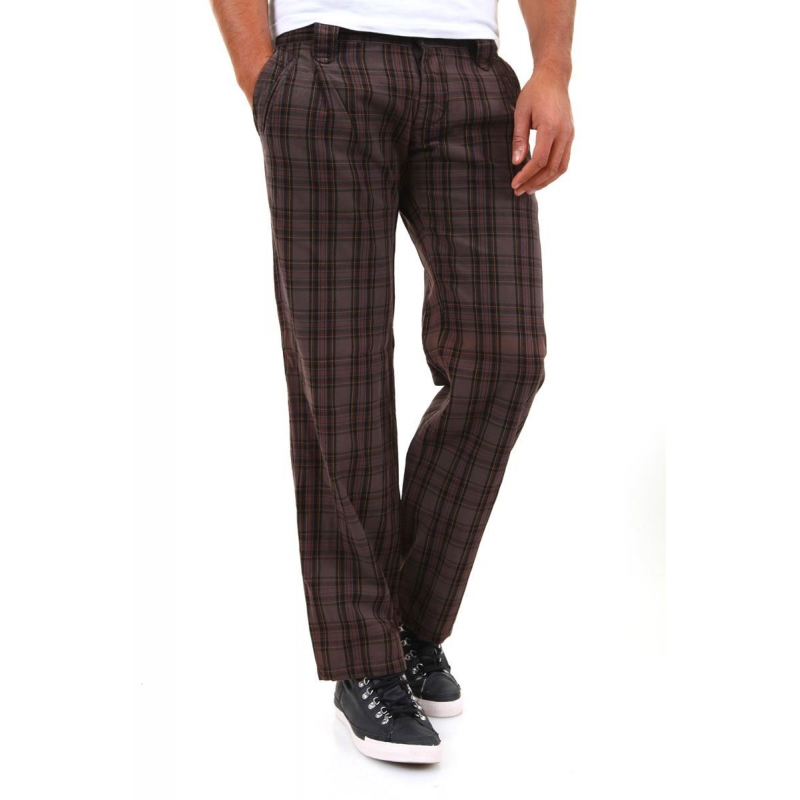 ABSOLUT JOY PANTS P634040 Checkered 6-Pocket