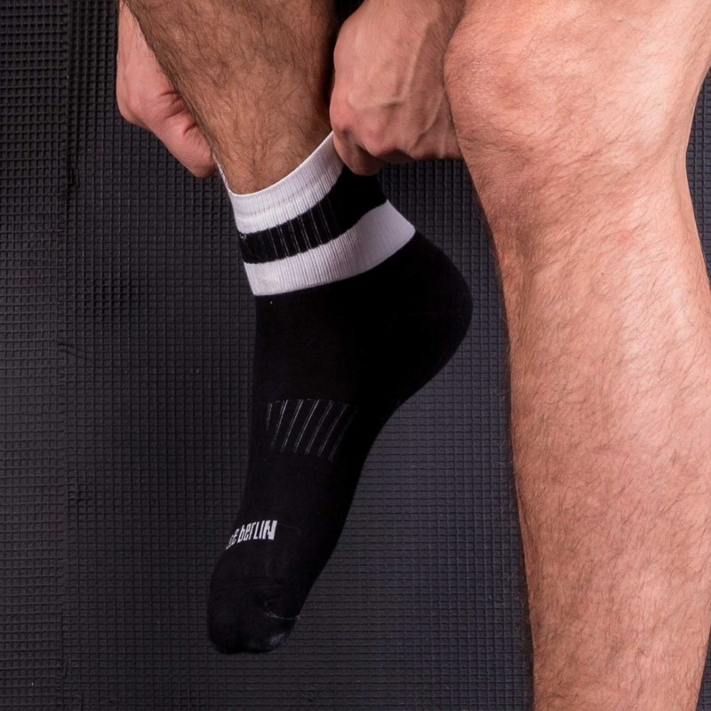 BARCODE Berlin SHORT SOCKS city PETTY socks 91216 sport wear black