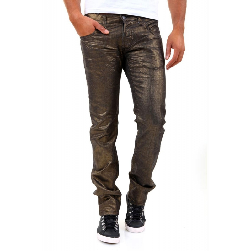 ABSOLUT JOY HOSE 5-Pocket gold star