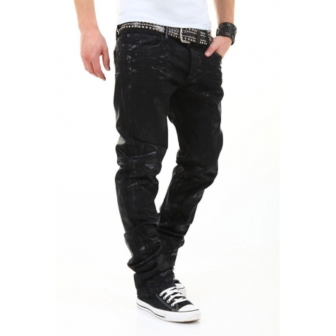 ABSOLUT JOY JEANS 5-Pocket black brain