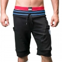 BARCODE Berlin SHORTS regular FERRY sport 91187 streetwear black