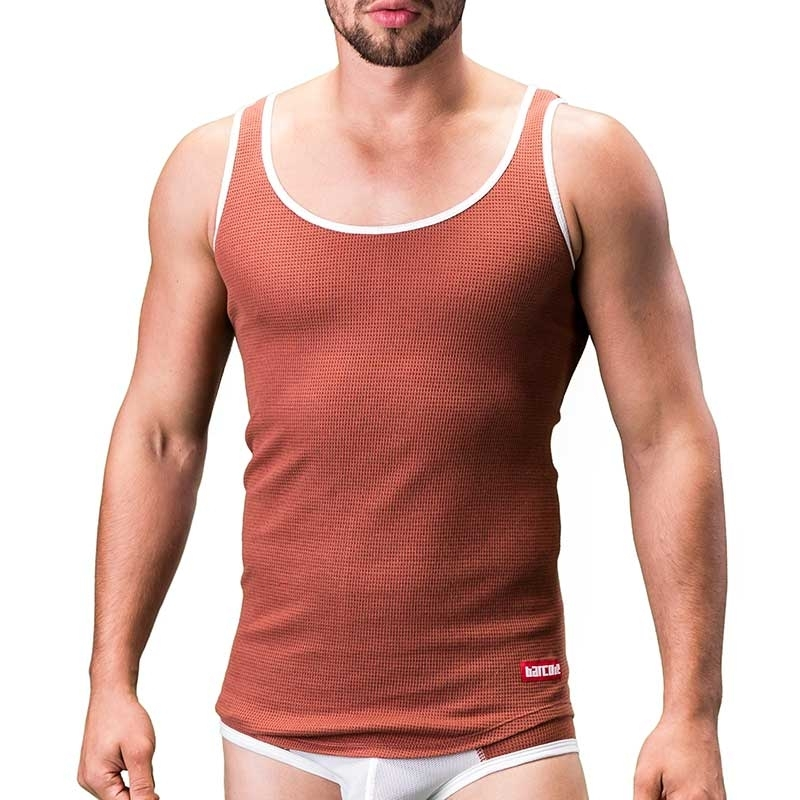 BARCODE Berlin TANK Top basic KANE thermo 91189 bodystyle rost
