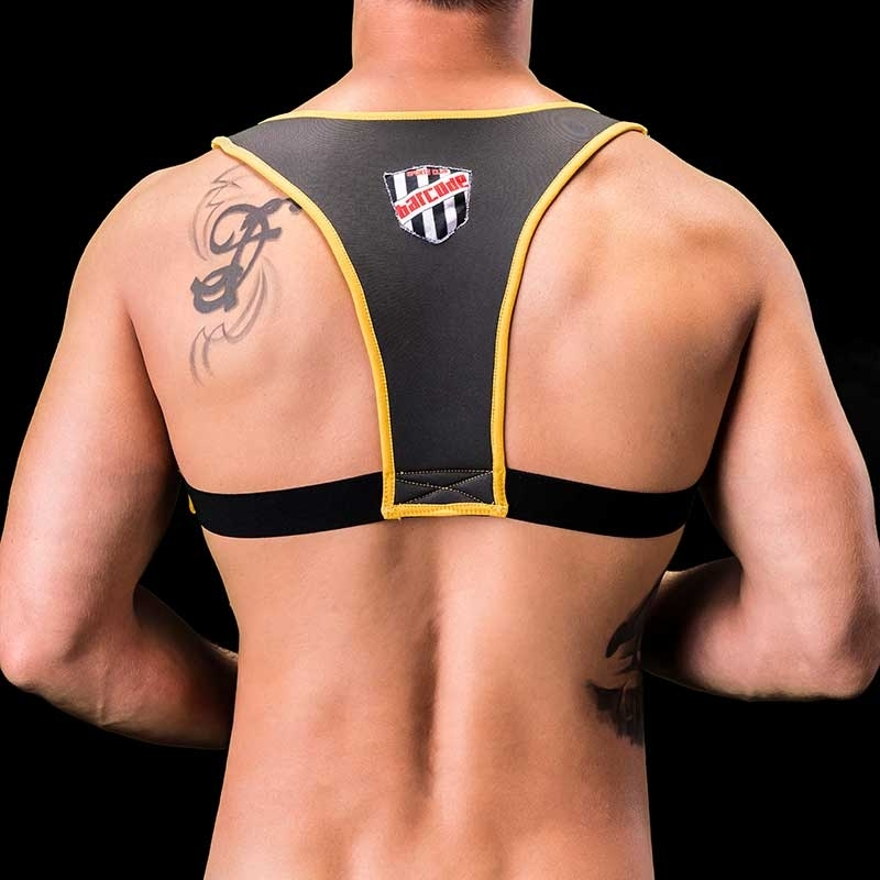 BARCODE Berlin HARNESS Tank GAEL neopren WET 91193 fight club yellow