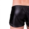 BARCODE Berlin SHORTS wet LABORATORY BYRON fight club 91157 shiny blackstyle red