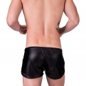 BARCODE Berlin SHORTS wet LABORATORY BYRON fight club 91157 shiny blackstyle blue