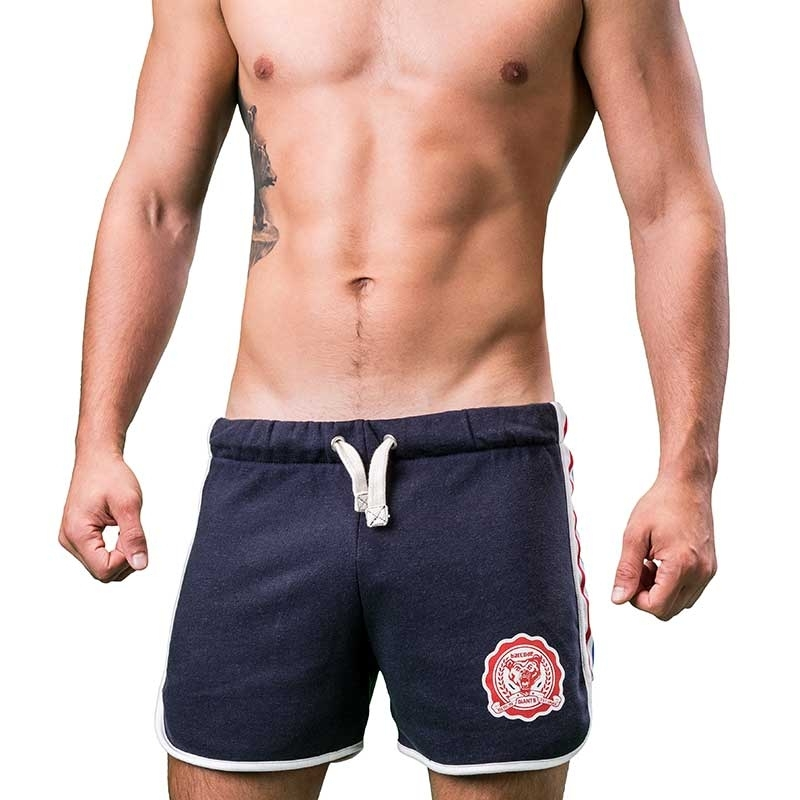 BARCODE Berlin SHORTS athletic Yule sport 91206 streetwear gym navy