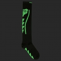 BARCODE Berlin KNIE STRUMPF football socken Lion Wave 91220 underground fight club black green