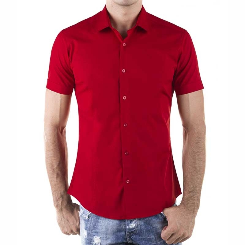 RED BRIDGE DRESS SHIRT R-2156 basic short sleeve cut