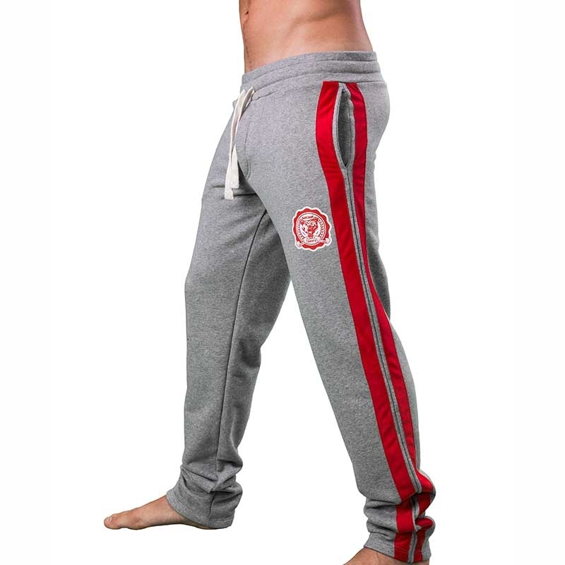 BARCODE Berlin SWEATPANTS comfort PAWEL jogging 91204 Gym grey