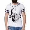 CIPO and BAXX T-SHIRT CT179 digitaler Totenkopf