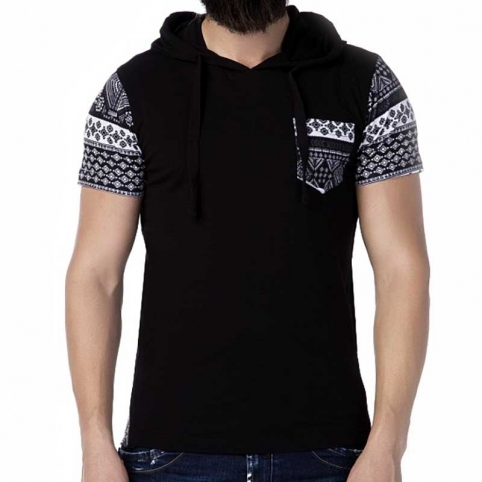 CIPO and BAXX T-SHIRT CT193 winter pattern