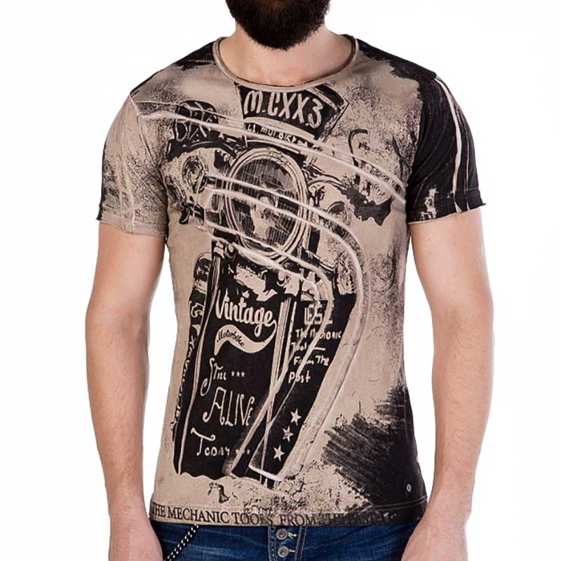 CIPO and BAXX T-SHIRT CT253 Vintage Stil
