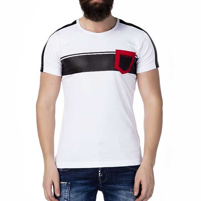 CIPO and BAXX T-SHIRT CT242 designer breast pocket