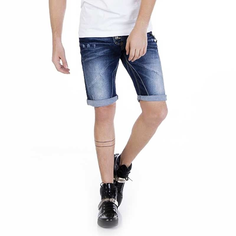 CIPO and BAXX SHORTS CAPRI- JEANS Slim OSTSEE Sommer CK120 Outdoor denim