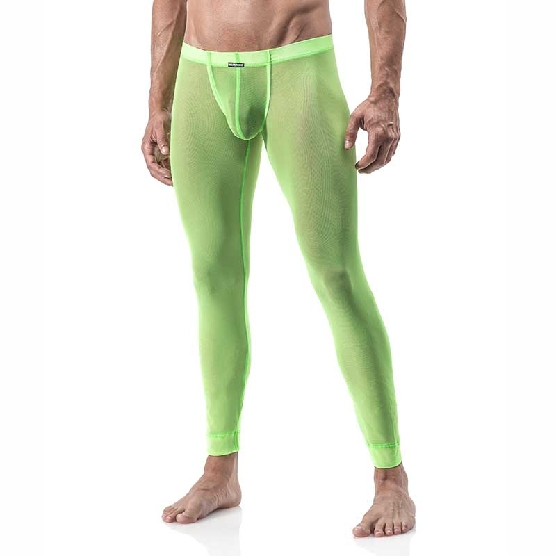 MANSTORE PANTS Hot RETRO LEGGINGS Club LOS-209597 Sexy neongreen